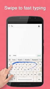 Paper Notes Keyboard Theme screenshot 1