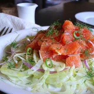 Orange + Fennel Salad