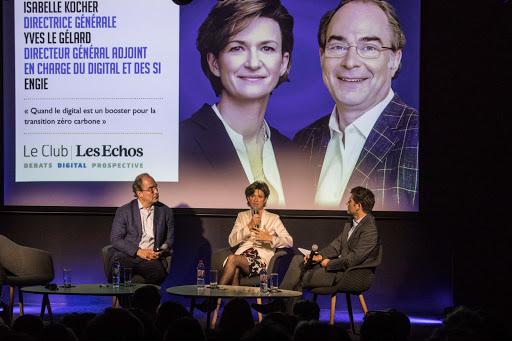 Club Les Echos Digital avec Isabelle Kocher et Yves Le Gélard - Keynote : Alexandre Stachtchenko
