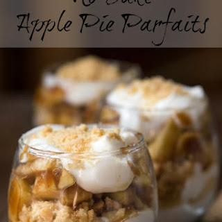 No Bake Apple Pie Parfaits