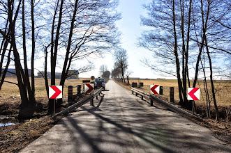 Photo: 91,5 km most, Mościska, tu już wodowaliśmy kajaki