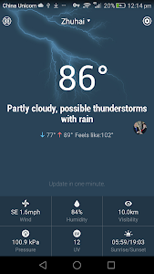 10 Day Weather Forecast Widget screenshot 3