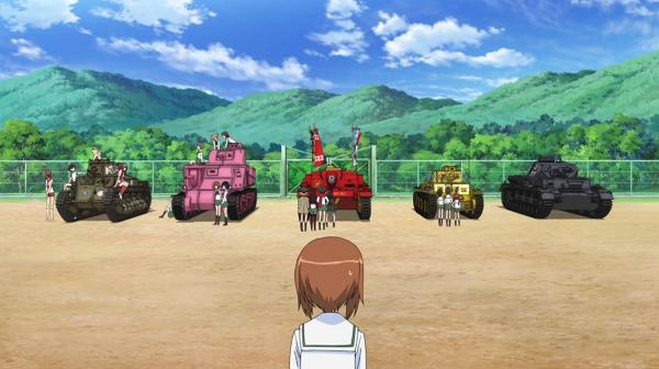 動畫:《少女與戰車》GIRLS und PANZER