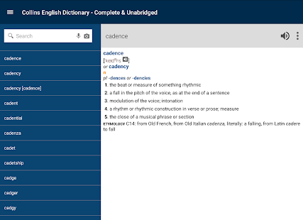 Collins English Dictionary- screenshot thumbnail