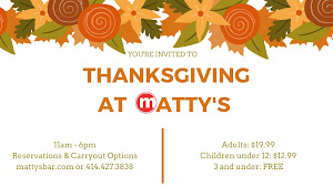 Thanksgiving at Matty's