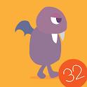 Ordena las sílabas 32 palabras icon