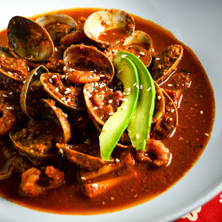 Red Pipian Seafood Soup