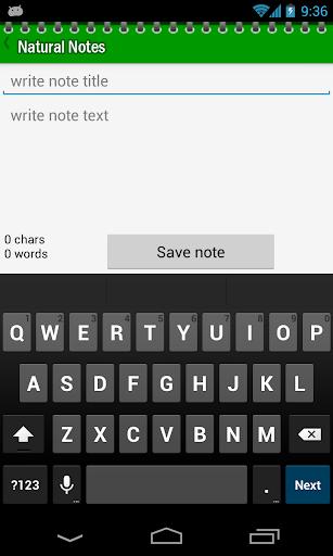 Natural Notes 2.9 screenshots 2
