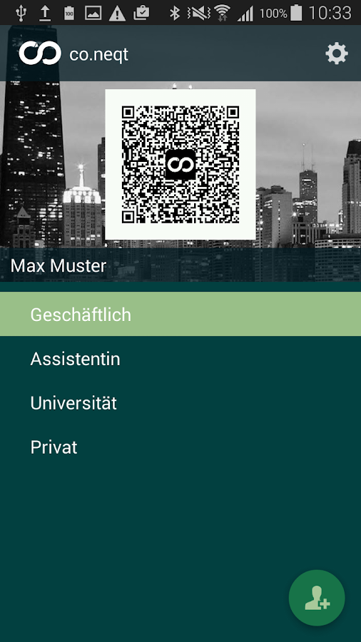 co.neqt - digital businesscard- screenshot