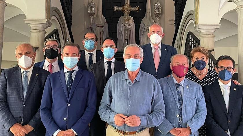 Los presidentes andaluces, en \'Un siglo de esplendor\'.