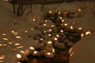 Photo: 雪あかり 朝里川会場