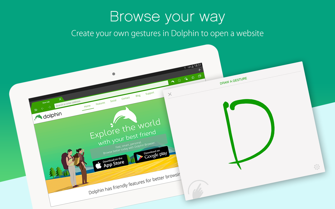 Dolphin - Best Web Browser 🐬- screenshot