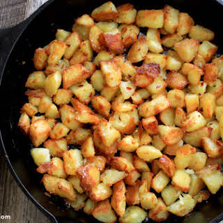 Oven-Roasted Potatoes.
