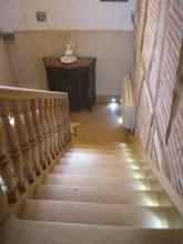 Photo: Vue du haut de l'escalier