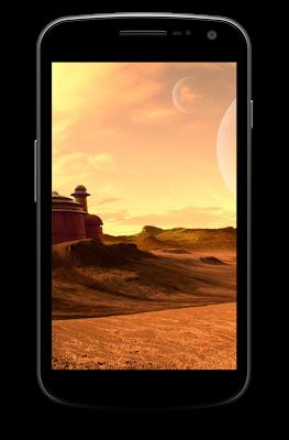 Tatooine Desert Wallpaper - screenshot