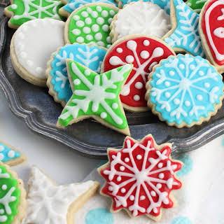 Perfect Vegan Sugar Cookies.