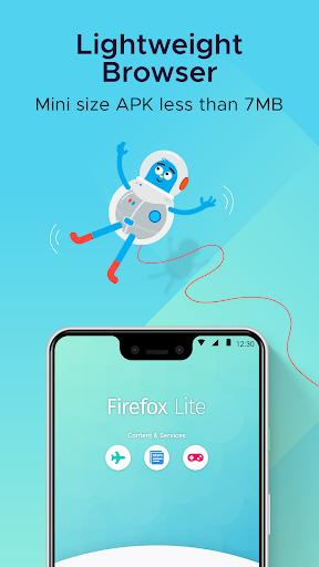 Firefox Lite u2014 Fast and Lightweight Web Browser 2.5.1(20460) screenshots 2