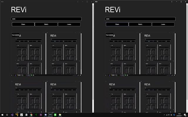 REVi screen sharing