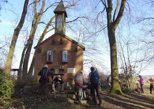 Photo: Vervallen kapel in het Bois de Geer