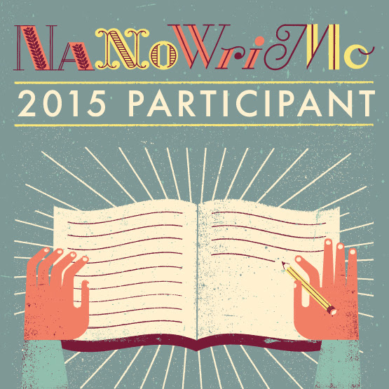 Nanowrimo 2015 Participant Badge