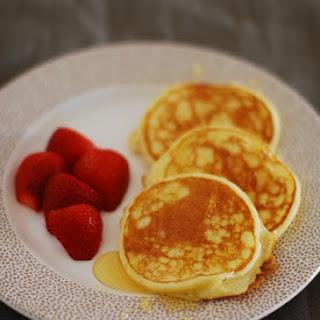 Ricotta Pancakes.