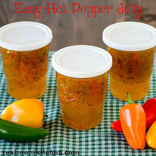 Easy Hot Pepper Jelly Recipe