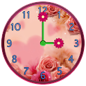 Flowers Clock Widgets icon