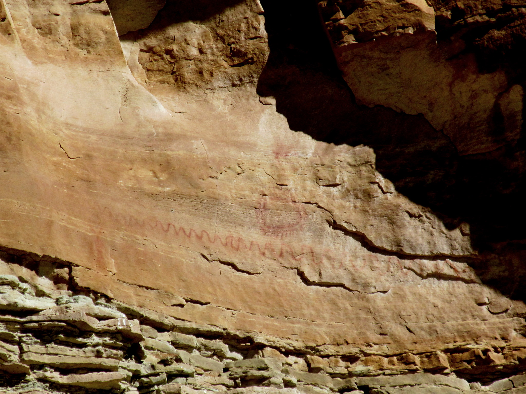 Photo: More high pictographs