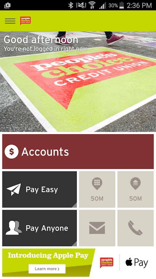 how to tap an pay with peoples choice