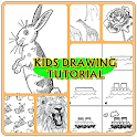 Kids Drawing Tutorial 2016 icon