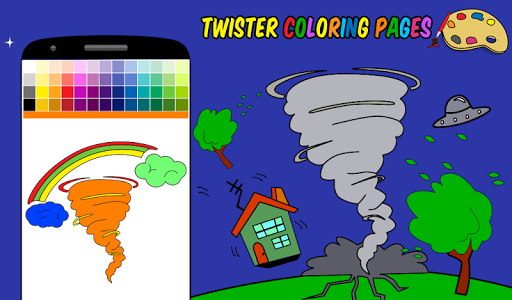 Twister Coloring Pages screenshot 8
