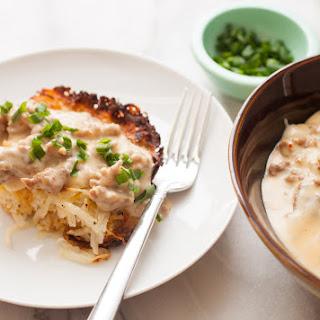 Potato Casserole with Sausage Gravy
