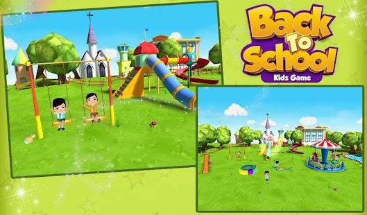 Back To School Kids Game- screenshot thumbnail