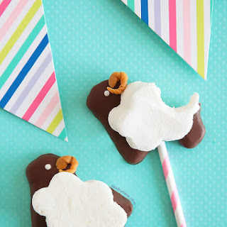 Puffy Sheep S'more Pops