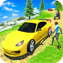 Crazy Taxi Game Off Road Taxi Simulator icon