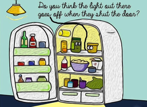 Place in the refrigerator for 4 hours, or (better yet) overnight.
