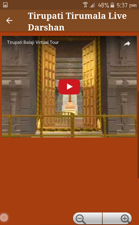 Tirupati Balaji Live Darshan Android Apps On Google Play