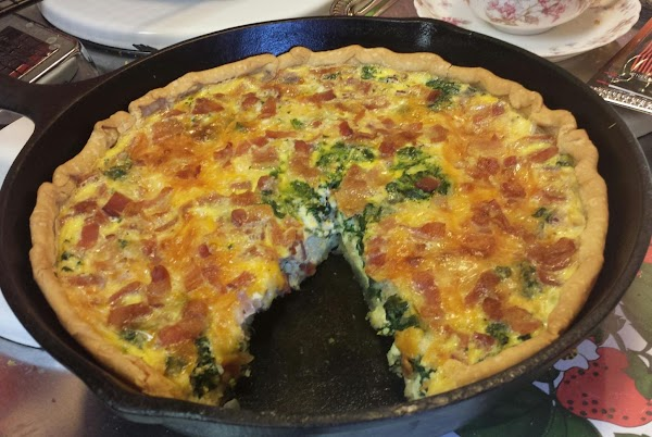Susan's Bacon Quiche Lorraine Recipe