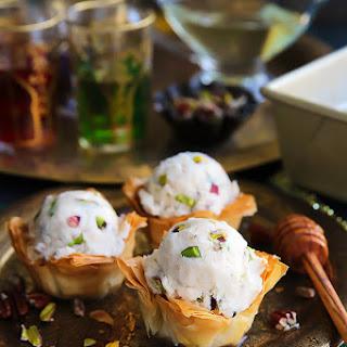 Baklava Ice Cream Sundae
