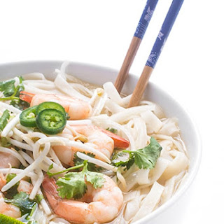 Shrimp Pho - Vietnamese Noodle Soup Recipe