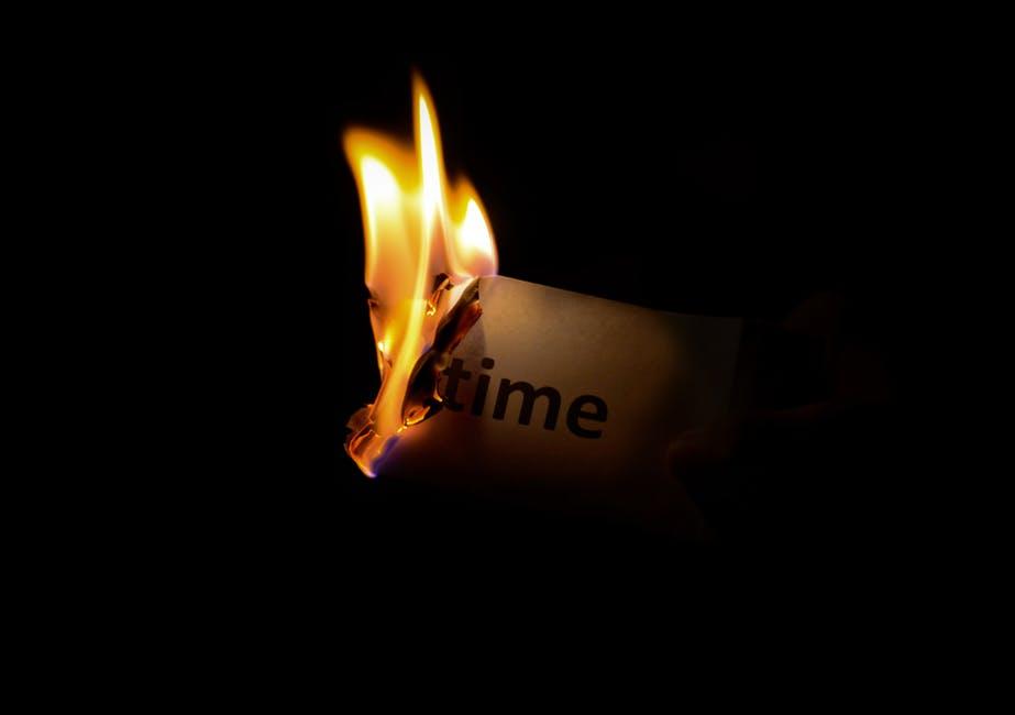 burn, dark, fire
