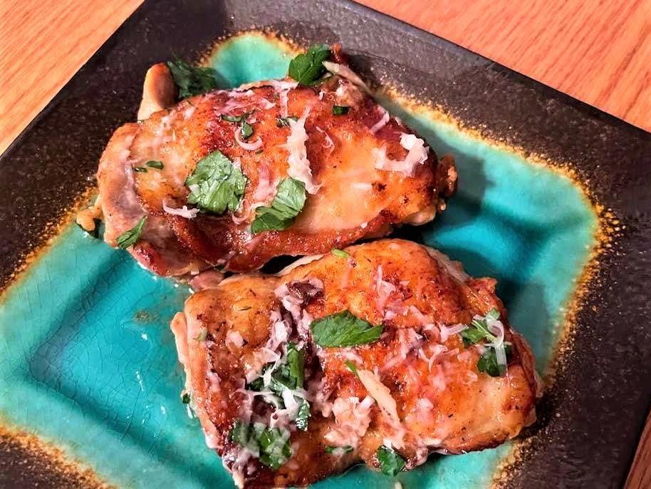 Butter Garlic Parmesan Chicken
