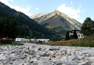 Photo: Heading for col Agnel