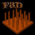 Connect Four In 3D - Board Fun icon