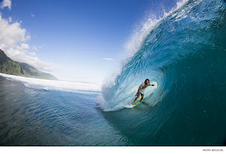 Photo: Danny Fuller, Tahiti. Photo: Noyle/SPL #surferphotos #waterphotography
