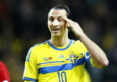 Pas d'Ibrahimovic contre l'Autriche ?