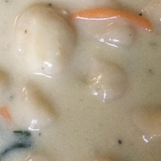 Cream of Chicken and Gnocchi Soup