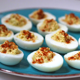 Skinny Wasabi Deviled Eggs Recipe