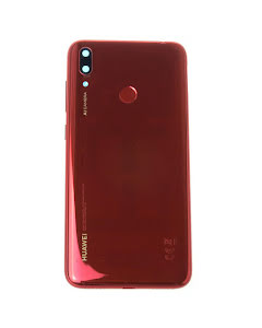 Y7 2019 Back Cover Coral Red