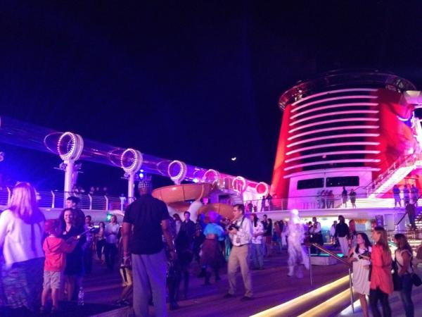 Photo: Buccaneer Bash on the Disney Fantasy... Great way to end the night!